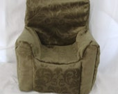 Paverpol Doll's Armchair tutorial and sewing pattern