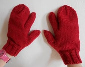 Knitting Pattern PDF - Trigger Finger Mittens for Men and Women