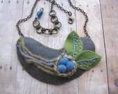 Leafy Nest Necklace