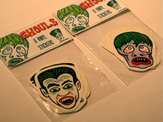 Ghoul & Monster Stickers