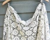RESVD for Felipa Vintage Crocheted Flower Piecework