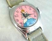 Vintage Cinderella Watch Original 1950s In good working condition