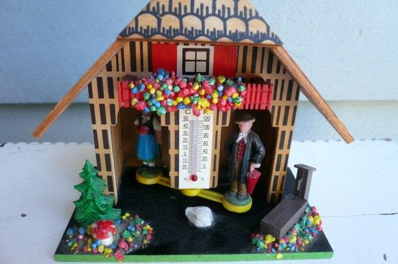 German Swiss Alpine Weather House