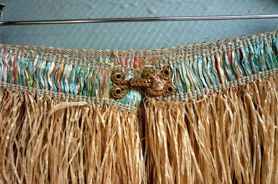 Vintage Hawaiian Grass Skirt