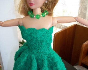 Chocheted Gown For Barbie