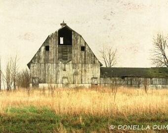 Abandoned Barn Photo - Barn Photo - Barn Photography -  Photography Print  - Old Barn Photo - Landscape Photo