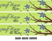 7 Piece Set - Forest Flowers Banner and Avatar Package