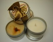 MAD TEA scented ECO Soy Candle, 4oz - mad tea- a doubles hot of lime followed by cucumbers and green tea - Wonderland inspired