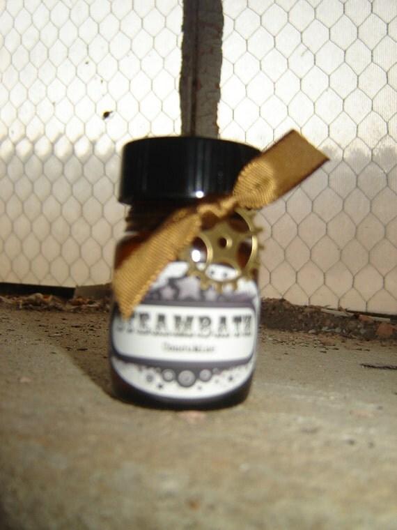 Free Domestic Shipping: GOTHIC Perfume Oil, BLOODBATH- midnight pumpkins, black coffee, dust and decay, 1/2 oz Steampunk
