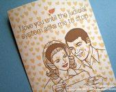 Never Testify:Valentine's Day Card