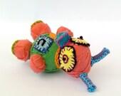 Tiny tiny wrapped creature