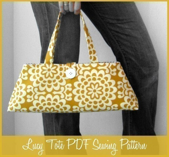 Lucy Tote Bag PDF Sewing Pattern