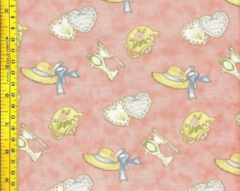 Gentler Time Fabric from Northcott - Sweet Hats