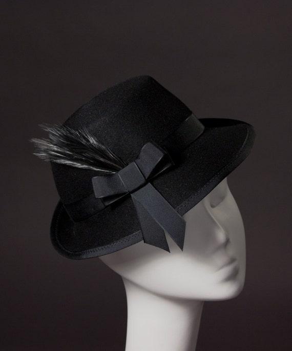 SUPER SALE - Ladies Fedora Snap Brim Vintage Style Hat