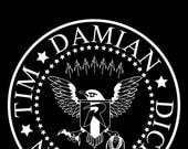 "Ramones Robins 11"" x 17"" poster"