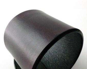 HOLMES Basic Leather Cuff - Custom Browns