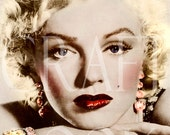 Vintage Digital Download 'Norma Jean' Antique Postcard Photo Photograph Print 76P