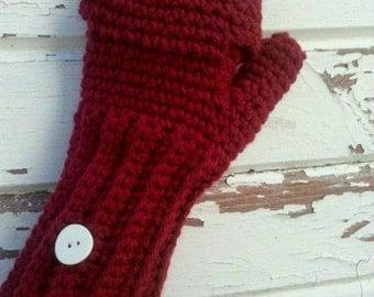 flip top mittens | Knit and Crochet | Pinterest