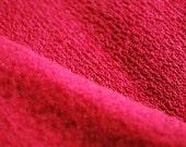 Red Knit Sweatshirt  Fabric Wide Christmas