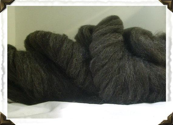 Brady roving, cheviot cross wool, animal friendly