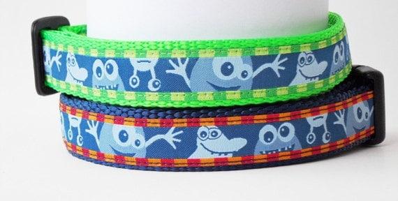 Wackadoodle - Dog Collar / Handmade / Pet Accessories / Adjustable