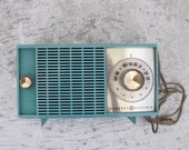 Turquoise Radio GE 1966 T 125-A