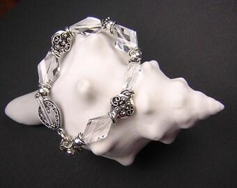 AAA Natural QUARTZ CRYSTAL Bracelet