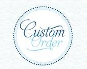 Custom Martha's Vineyard Nautical Chart Guestbook for Casey