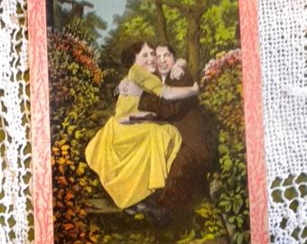 We are Happy, Happy, Happy - Antique Postcard