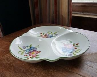 SALE Vintage Royal Worcester Divided Serving Dish