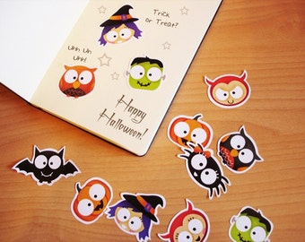 Stickers -Trick or Treat- Halloween