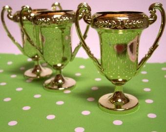3 Miniature Trophys