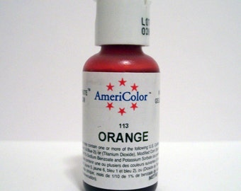 Orange Gel Paste Food Color For Cupcakes