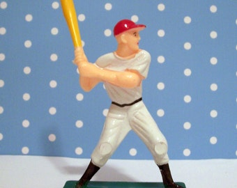 Baseball Player Cake Topper