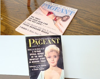 Vintage Pageant Magazines - From the 1950's, 1960's, and 1970's - PRICE PER MAGAZINE