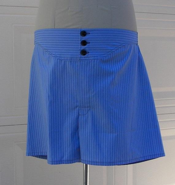 Mens' Boxer Shorts AND Pattern Vintage Advance Pattern