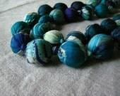 In Dark - Silk Beads