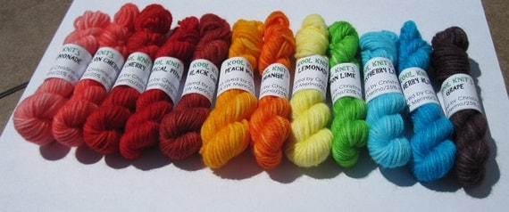 Rainbow Mini Skein Collection