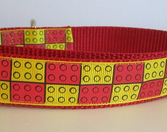 Lego Dog Collar Etsy
