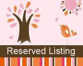 Reserved Listing for jdeledda