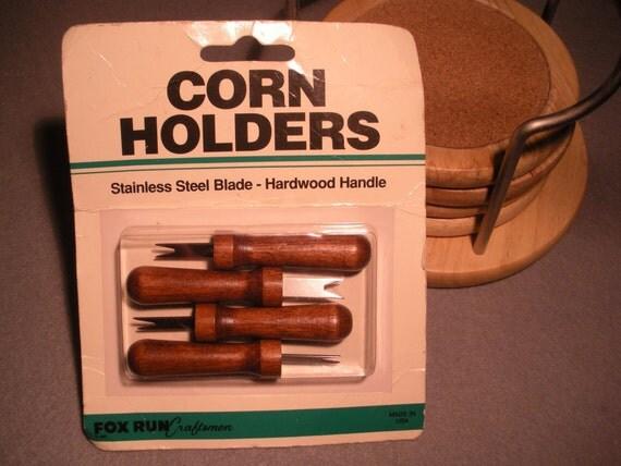 Vintage Corn Cob Holders