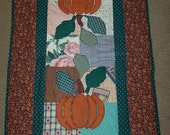 Table Runner Fall Pumpkin Table Topper