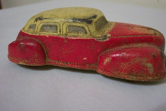 Toy Car Sun Rubber 1940s Dodge