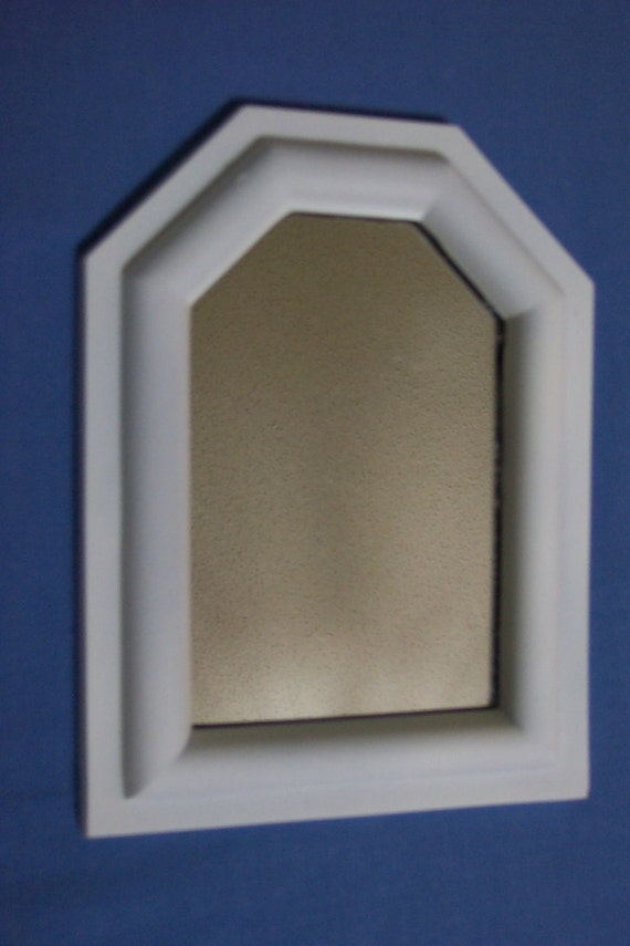Mirror Small White Framed Mirrors Set Of 3 For An Instant