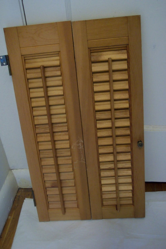 shutters wood shutters louvered shutters natural by