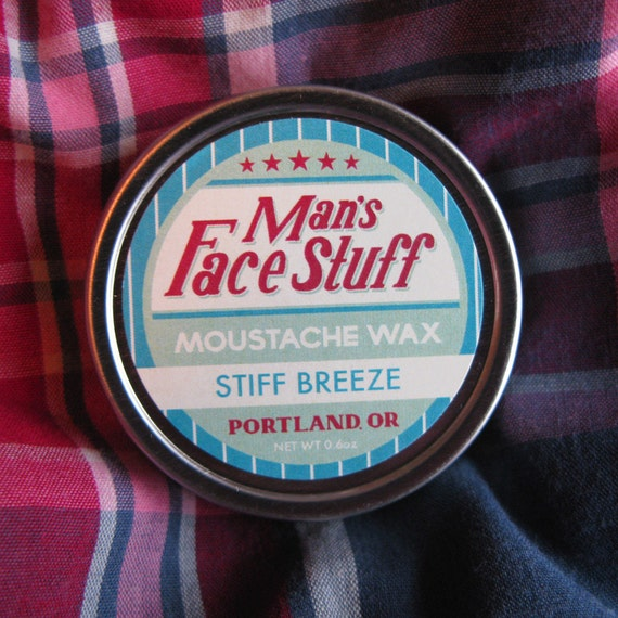 Stiff Breeze - Peppery Spruce Scented Moustache Wax