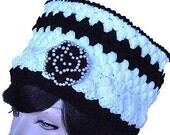 Crochet Crown Hat Pattern PDF