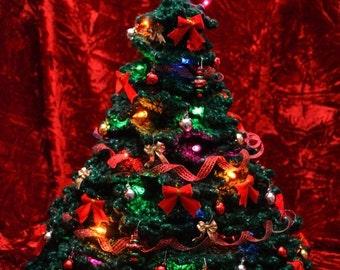 Christmas Tree Crochet Pattern PDF