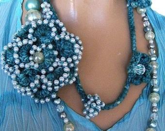 Necklace Lariat Pattern Crochet Pattern PDF