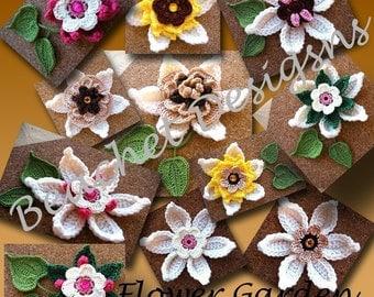 Crochet Flowers Pattern Series III PDF
